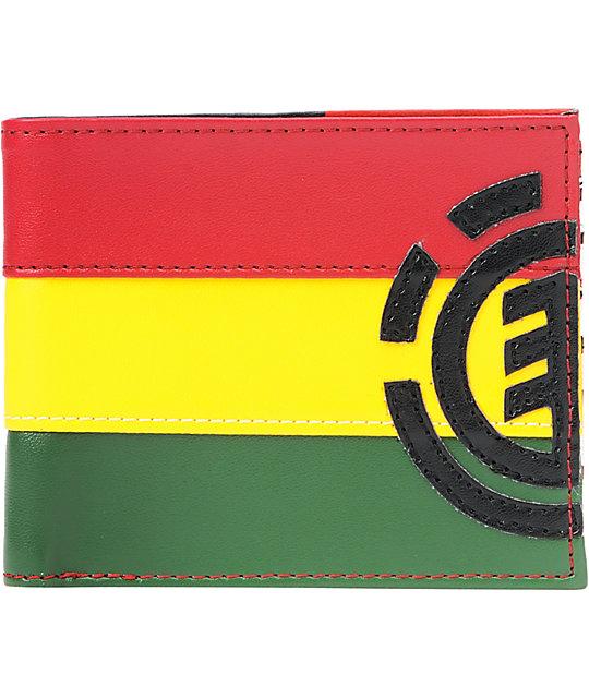 Element Royalist Rasta Bifold Wallet