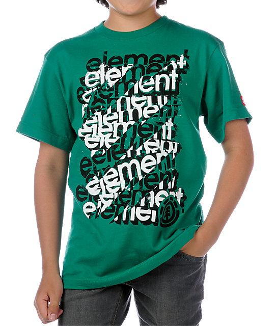 Element Scaffold Kelly Green T-Shirt