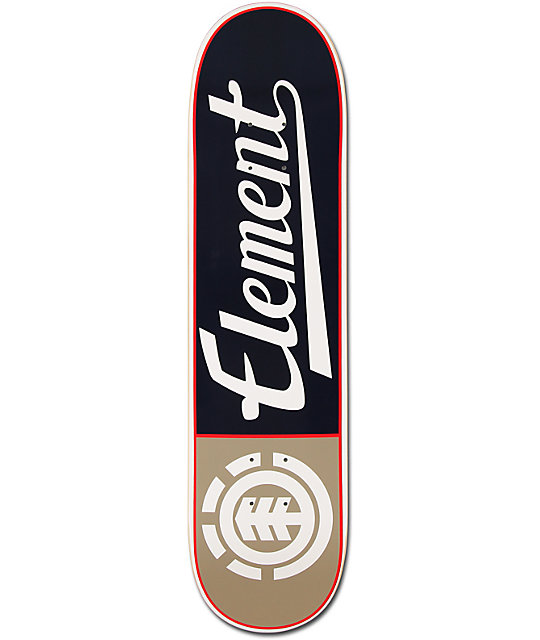 "Element Script Forestal 7.75""  Skateboard Deck"