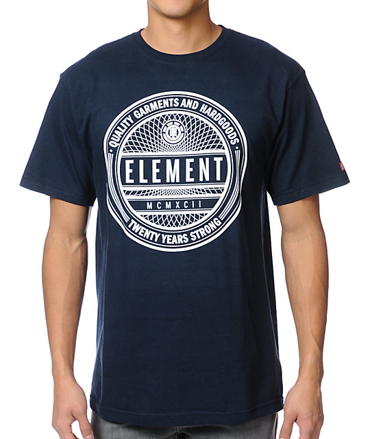 Element Sealed Navy Blue T-Shirt
