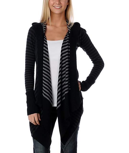 Element Serenade Black Cardigan