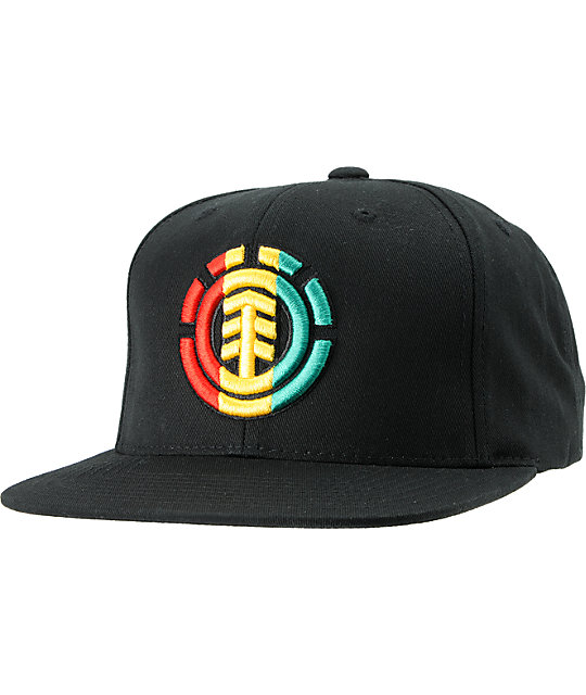 Element Standard Rasta Snapback Hat