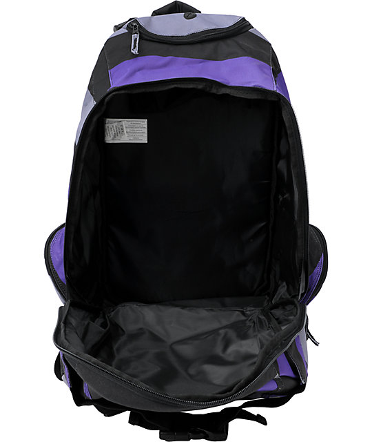 Element Striper Purple, Black & Grey Skate Backpack
