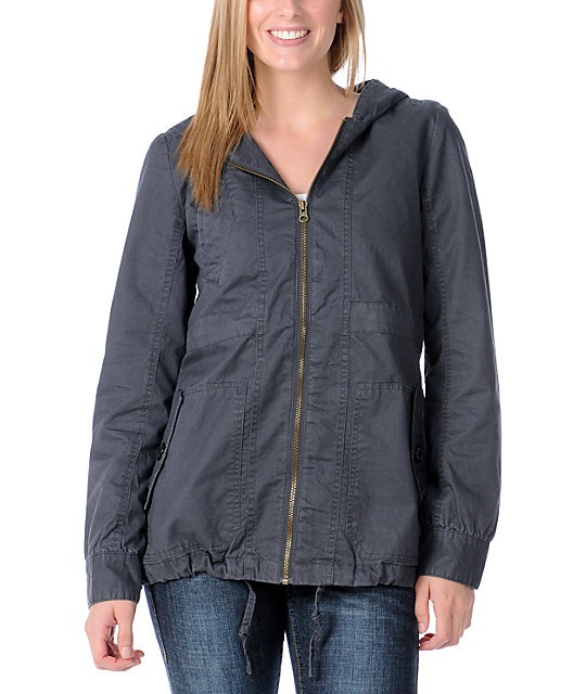 Element Trafalgar Charcoal Jacket