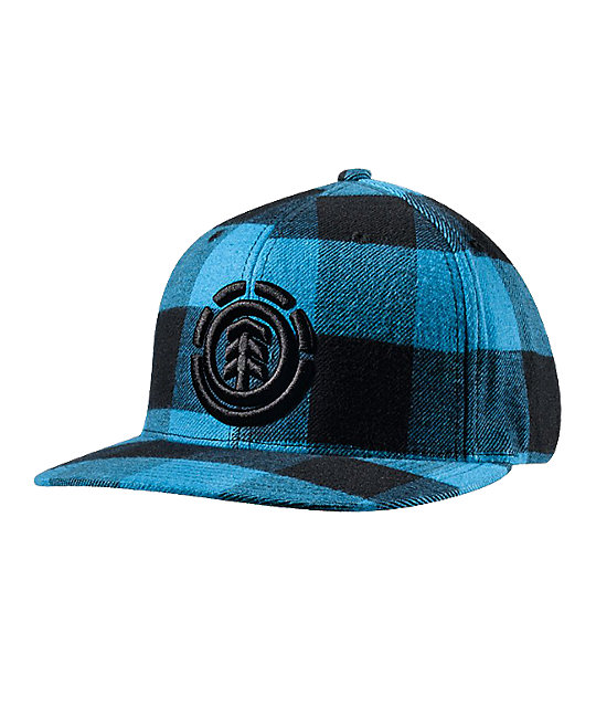 Element Traffic Plaid Flannel Hat
