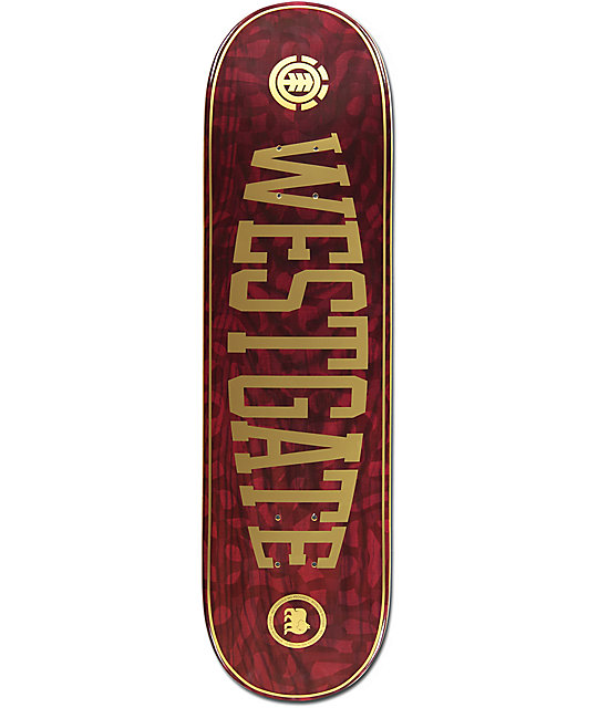 "Element Westgate Braincells 8.5"" Skateboard Deck"