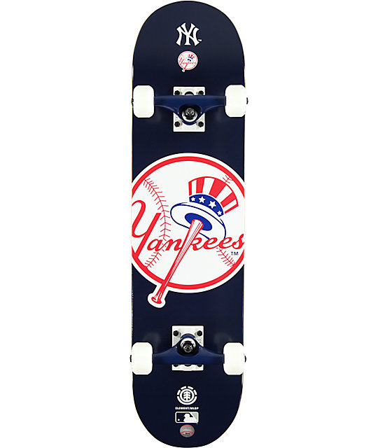 "Element Yankees 7.75""  Complete Skateboard"