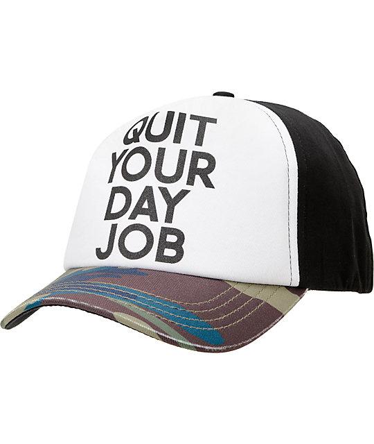 Camouflage Element x Jac Vanek Marin Snapback Hat
