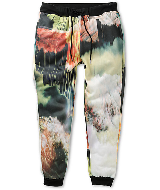 Elwood Art Fleece Skinny Jogger Pants