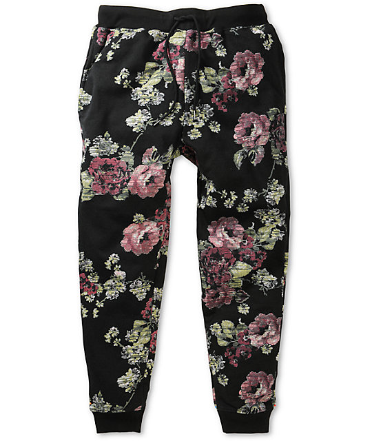 Elwood Digi Floral Sublimated Jogger Pants
