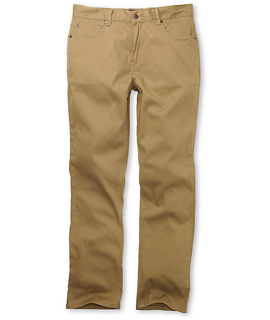 Elwood Kenny Brown Twill Pants