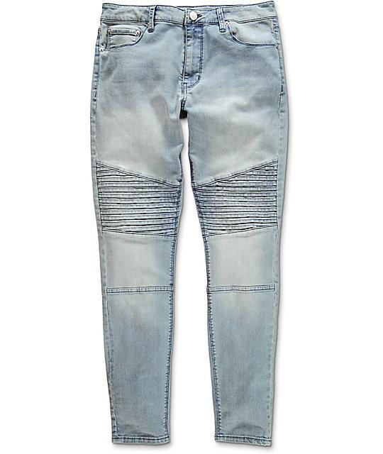 Elwood Moto Indigo Denim Jeans
