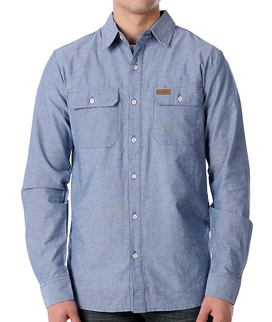 Elwood Pops Workin Blue Shirt