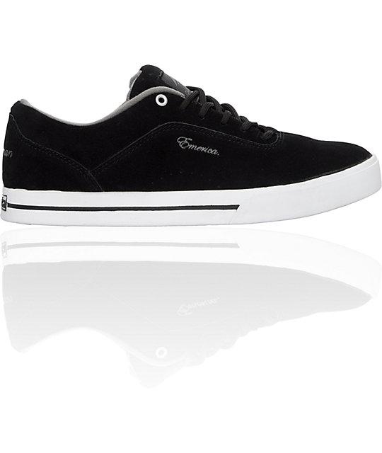 Emerica G-Code!!! Black, White & Grey Shoes