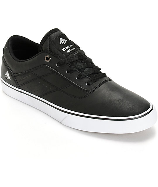 emerica herman g6 vulc vegan leather skate shoes at zumiez
