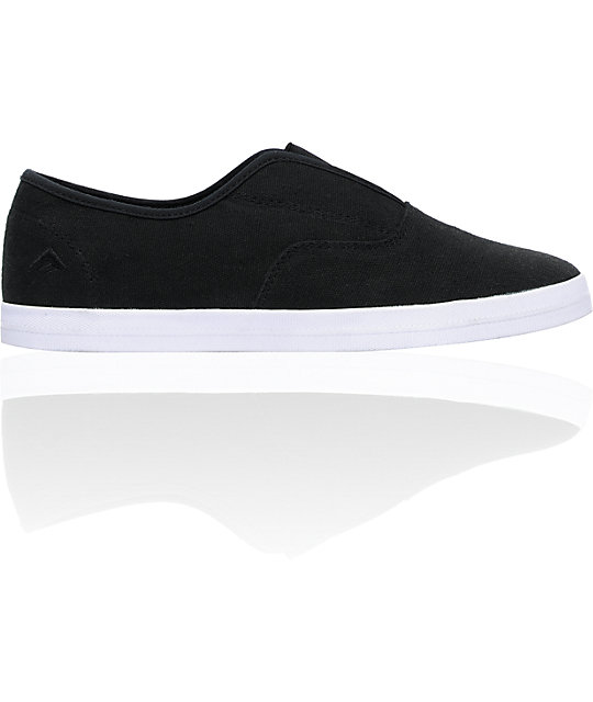 Emerica Hobo Black & White Shoes