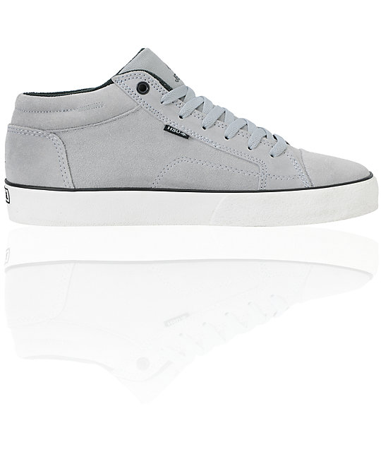 Emerica Hsu 2 Fusion Grey & White Skate Shoe