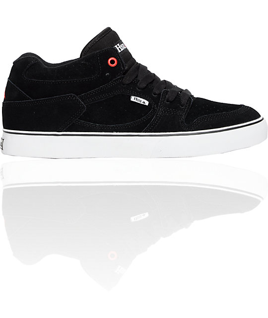 Emerica Hsu Black & White Shoes