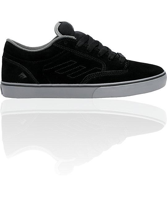 Emerica Jinx Black & Dark Grey Shoes