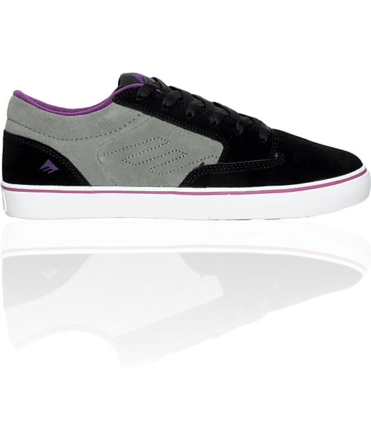 Emerica Jinx Black & Grey Shoes