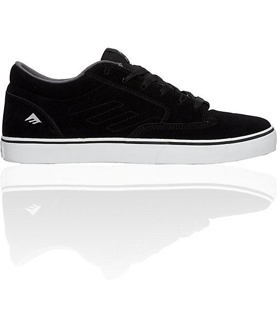 Emerica Jinx Black & White Shoes