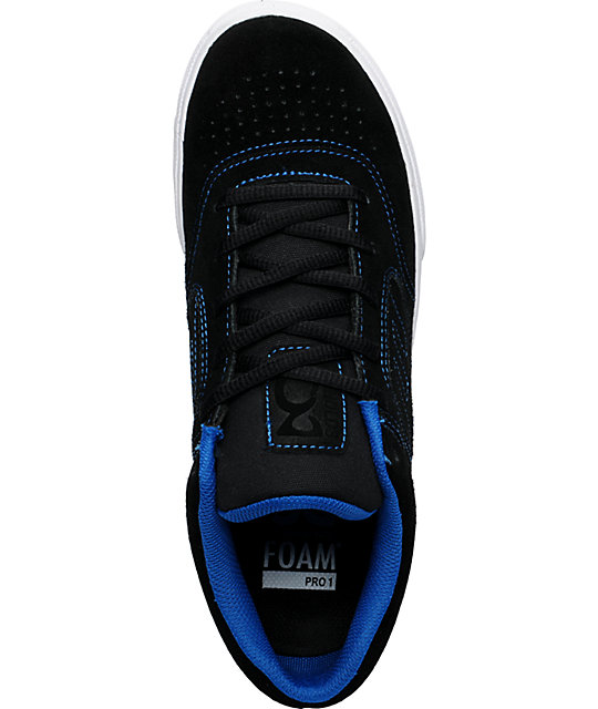 Emerica Reynolds 3 Black & Blue Shoes