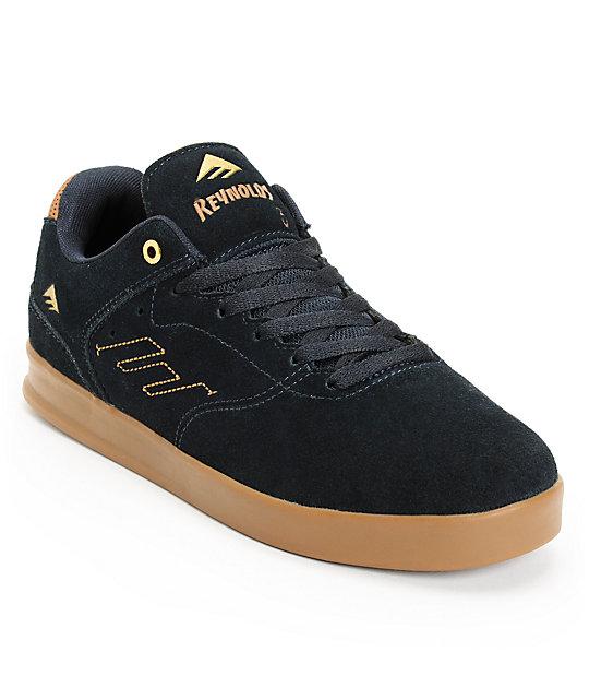Emerica The Reynolds Navy & Gum Suede Skate Shoe