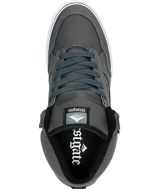 Emerica Westgate Grey Canvas Skate Shoes