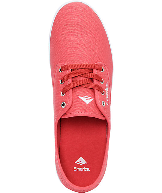 Emerica Wino Cardinal Red Shoes