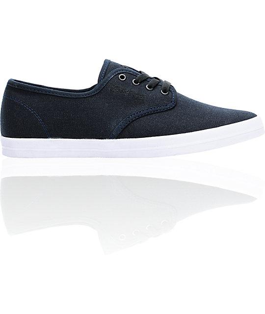 Emerica Wino Dark Navy Skate Shoes