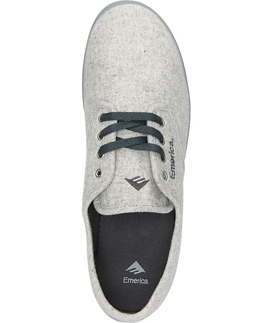 Emerica Wino Fusion Light Grey & Dark Grey Chillseeker Shoes