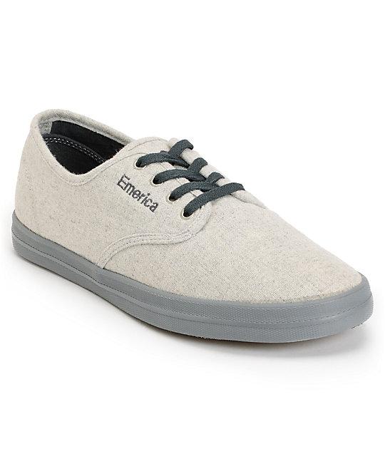 Emerica Wino Fusion Light Grey & Dark Grey Chillseeker Shoes