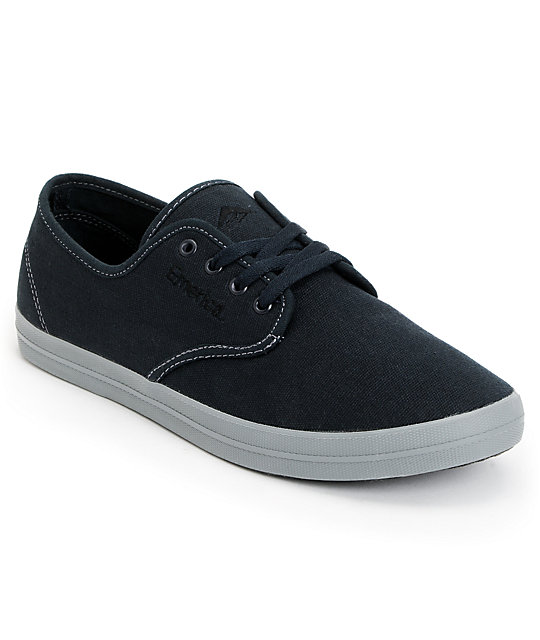 Emerica Wino Fusion Navy & Grey Chillseeker Shoes