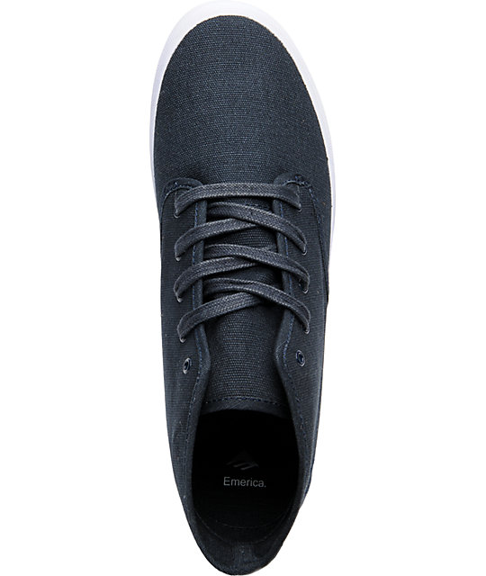 Emerica Wino Mid Dark Navy Shoes