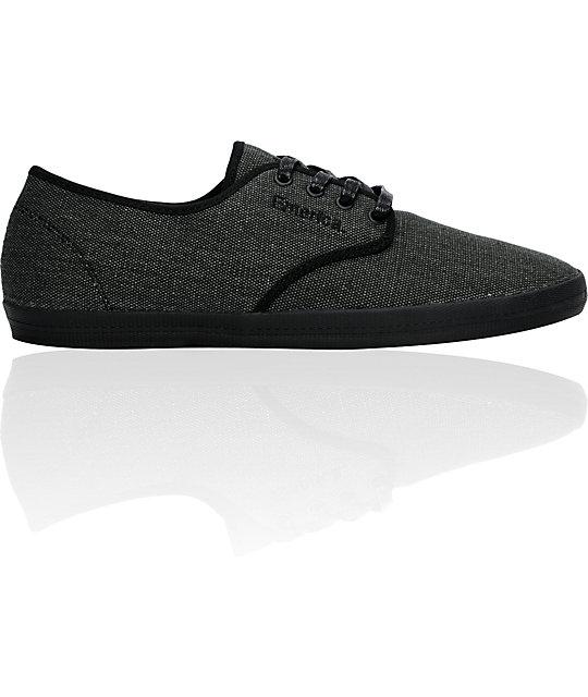Emerica Wino Raw Black Shoes