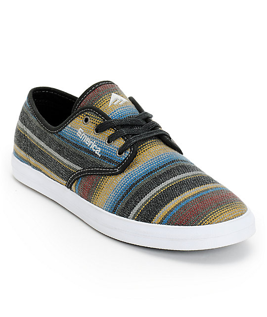 Emerica Wino Yarn Dye Woven Shoes