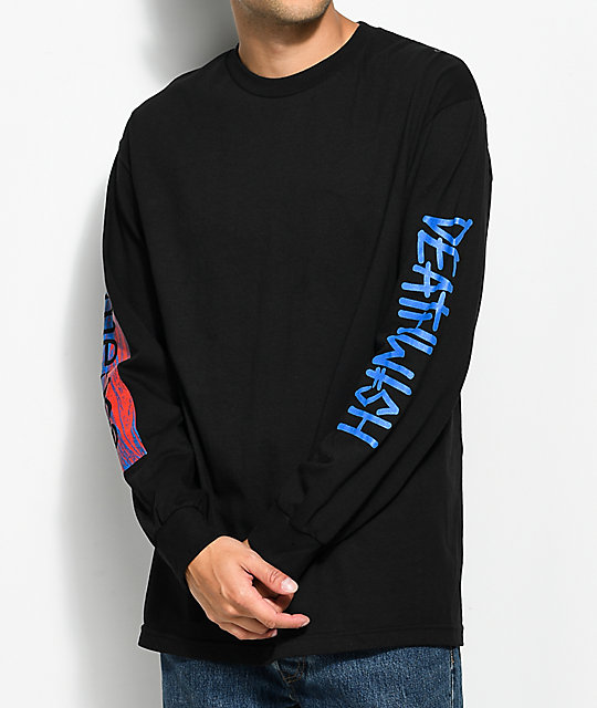 Emerica X Deathwish Black Long Sleeve T-Shirt