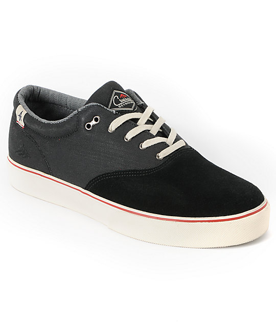 Emerica x Altamont Reynolds Cruiser Black Skate Shoes