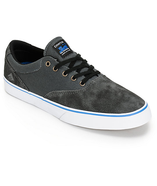 Emerica x Toy Machine Provost Slim Skate Shoes