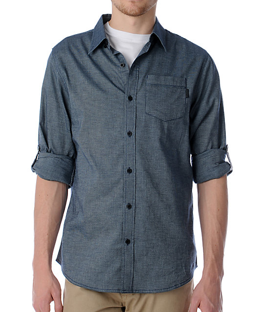 Mens Roll Up Sleeve Shirts