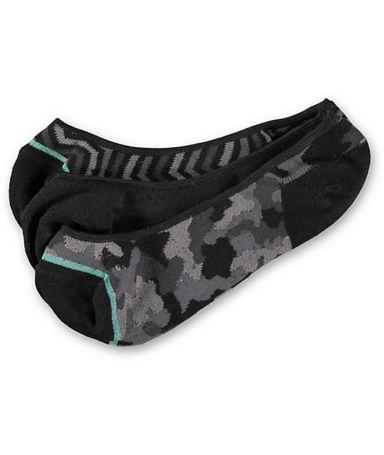 Empyre 3-Pack BTW Camo Chevron No Show Socks