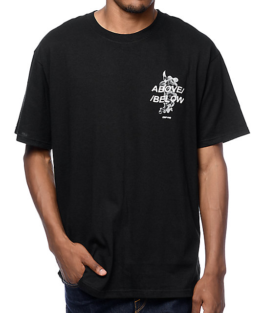Empyre Below Camiseta Above En Negro hxtQrsCd
