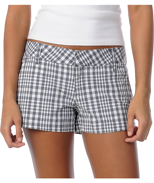 Empyre Arcadia 2.5 Grey Check Shorts