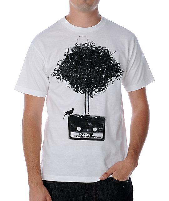 Empyre Atomic Tape White T-Shirt