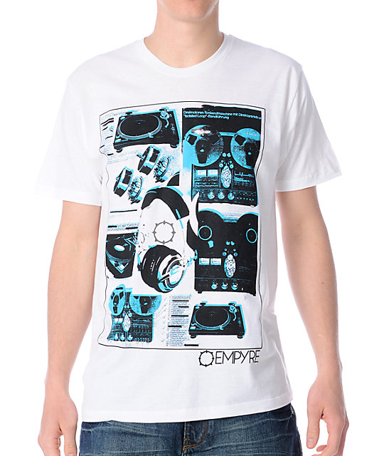Empyre Audiophile White T-Shirt
