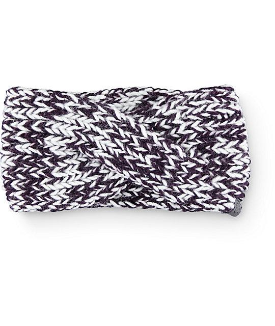 Empyre Aura Blackberry Marled Headband