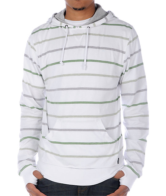 Empyre Barracuda White Hooded Shirt