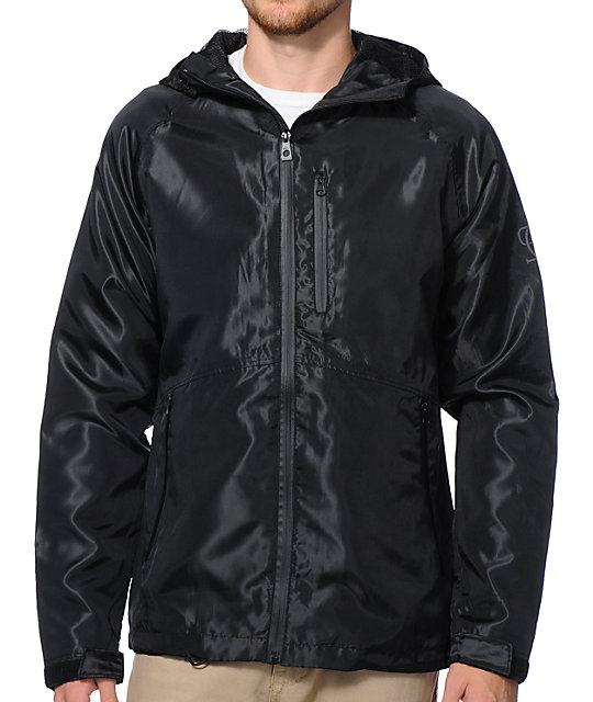 Empyre Base Camp Black Technical Rain Jacket