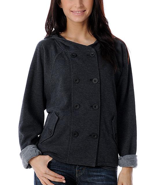 Empyre Bauhaus Charcoal Hoodie Jacket