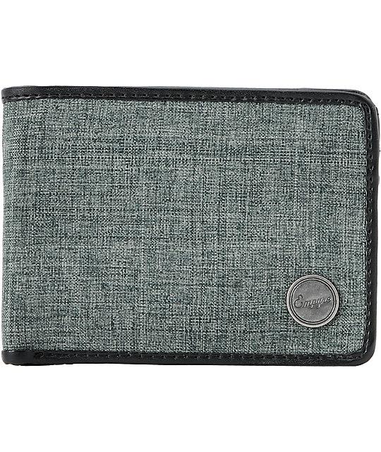 Empyre Beartrap Grey Chambray Bifold Wallet